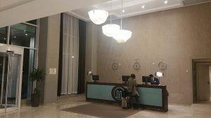 Éclairage LED pour la réception des hôtels
