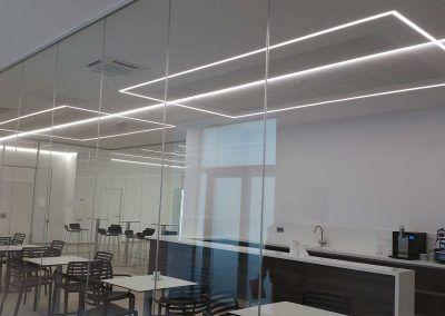 ionfilter-instalación-luminarias-led-comedor-y-pasillo-luxes