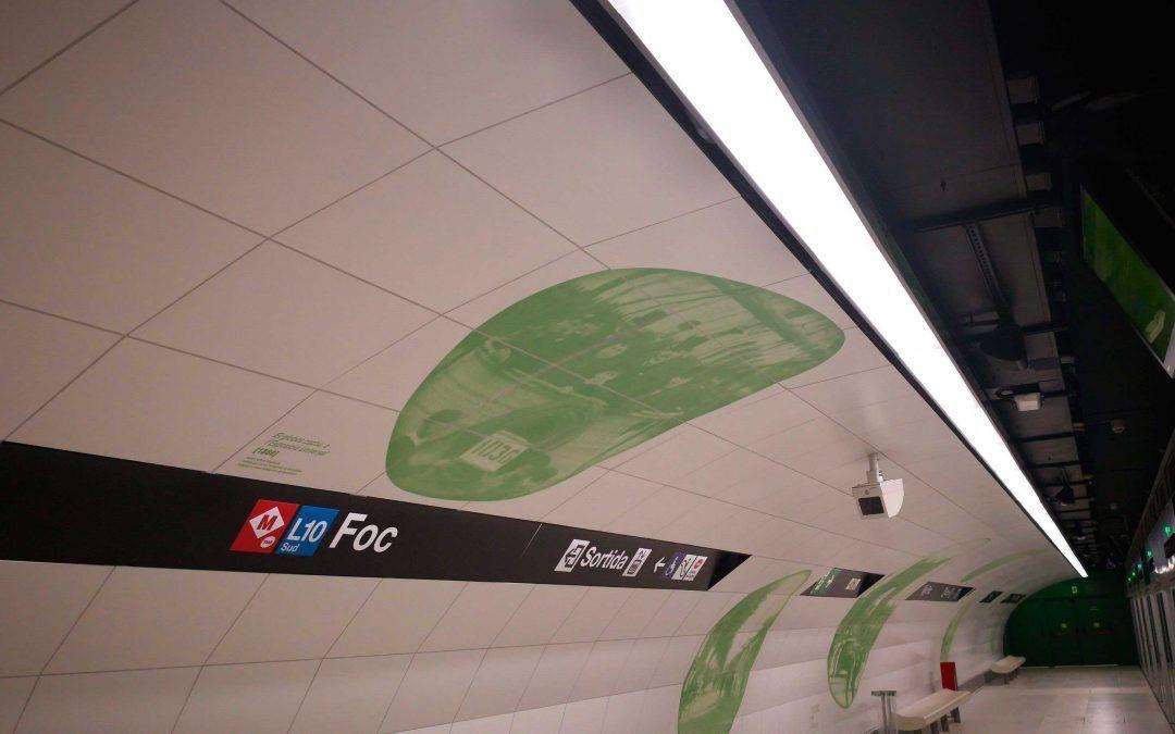 Estación Foc, Metro de Barcelona