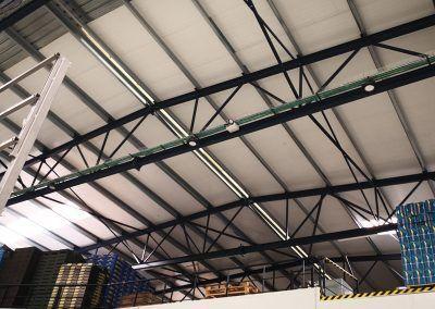 Iluminación LED para plantas de produccioón