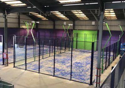 Proyectores para instalaciones deportivas