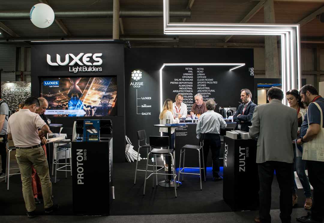 Luxes presenta nuevas tendencias en iluminación en Architect Work 2019