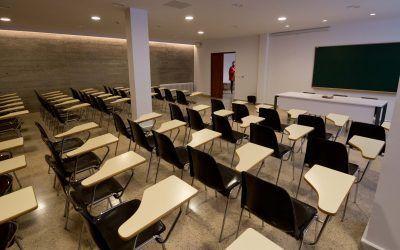 Lighting regulations in classrooms and universities