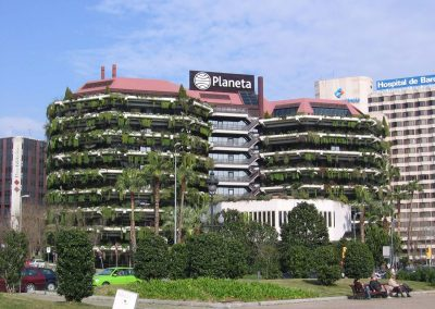 Planeta Barcelona Building